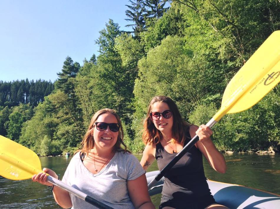 Rafting Cesky Krumlov